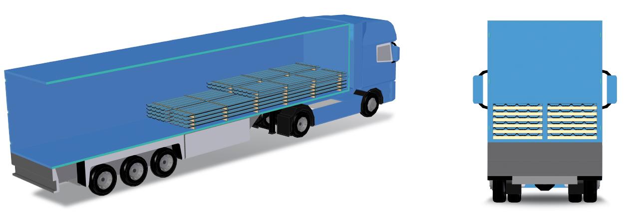 camion transporte magon