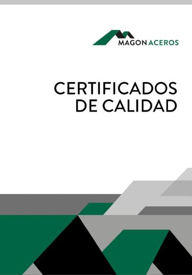 certificado de calidad magon