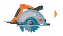 magon corte panel sierra circular