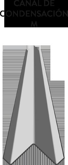 CANAL DE CONDENSACION M