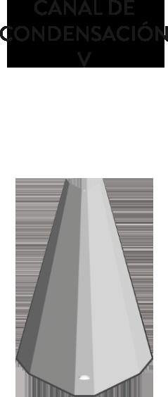CANAL DE CONDENSACION V